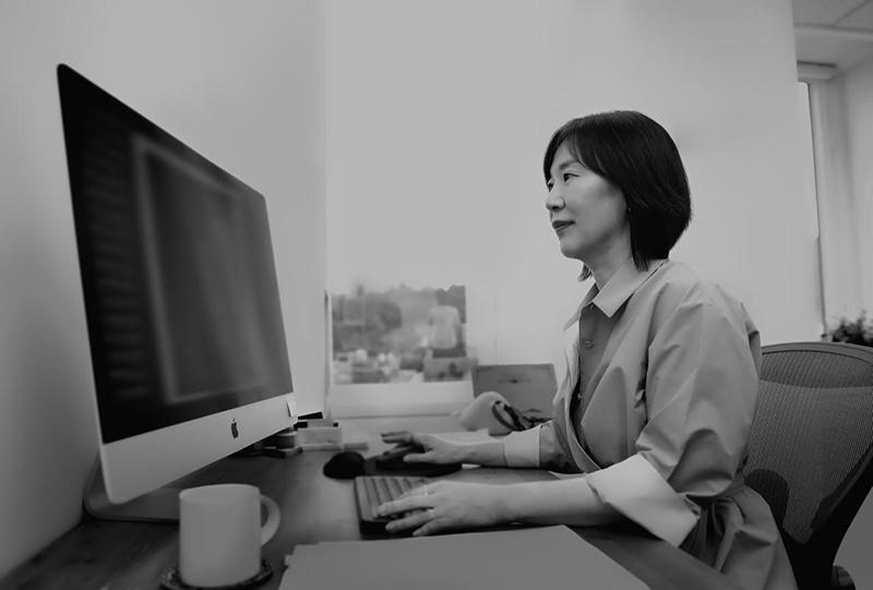 바른손이앤에이의 곽신애 대표