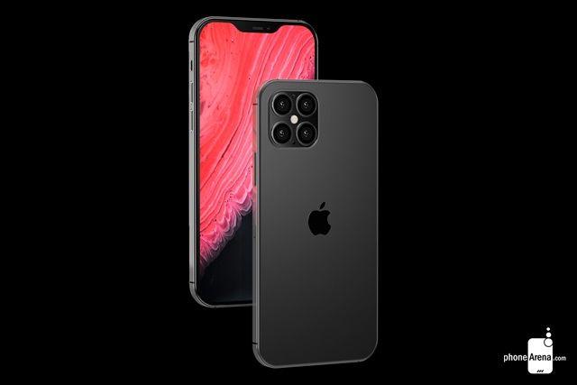 애플의 5G 아이폰 출시가 지연될 수 있다는 전망이 나왔다. 아이폰12 프로 렌더링 이미지 (사진=폰아레나)