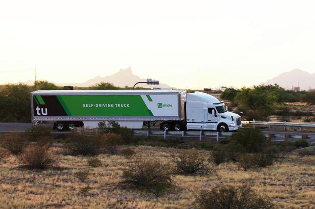 투심플의 무인 자율주행 트럭 (사진=투심플)