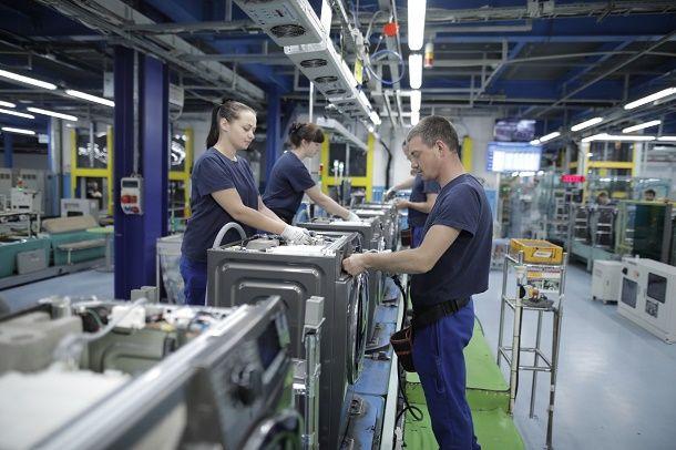 삼성전자 폴란드 공장의 제조 현장 모습.(사진=삼성전자)