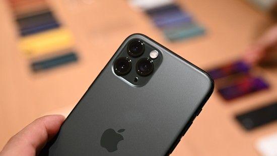 애플의 '아이폰 11 프로'. (사진=지디넷코리아)