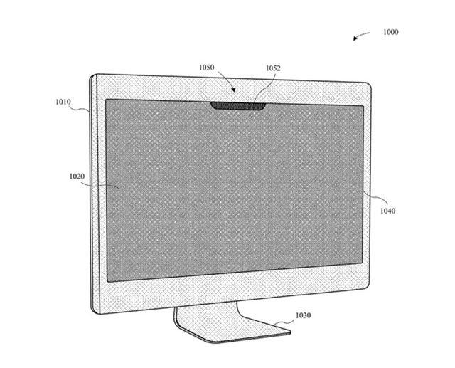 애플이 페이스ID과 유사한 노트북용 생체인증 시스템에 대한 특허를 출원했다. (사진=미국 특허청)
