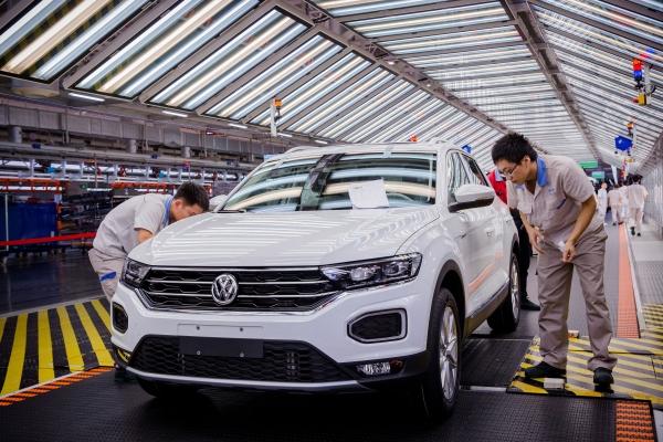 폭스바겐 중국 공장