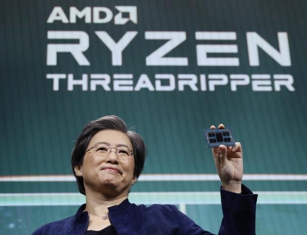 CES 2020에 나온 리사 수 AMD CEO(사진=AMD)