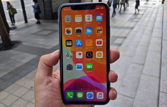 애플 아이폰11. (사진=지디넷코리아)