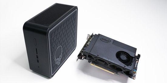 인텔이 16일 글로벌 출시한 고성능 미니 PC, 고스트 캐년. (사진=인텔)