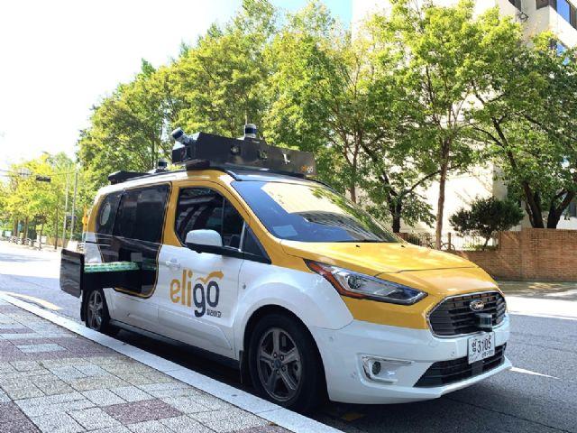 국내에 투입된 토르드라이브 자율주행 차량 (사진=토르드라이브)