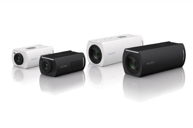 4K 60P 네트워크 카메라 SRG-XP1 및 SRG-XB25.