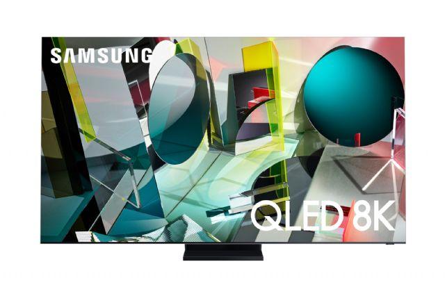 2020년형 삼성 QLED 8K 인피니티 스크린 제품 사진 (사진=삼성전자)