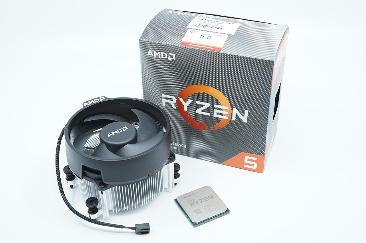 AMD 라이젠5 3600 프로세서.