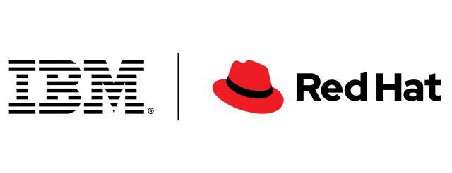 IBM과 레드햇 로고