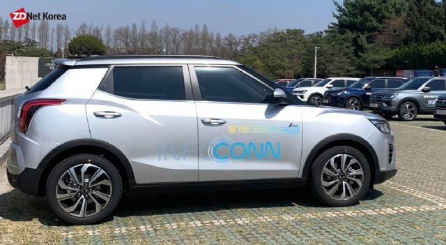 인포콘 시스템이 탑재된 쌍용차 티볼리 (사진=지디넷코리아)