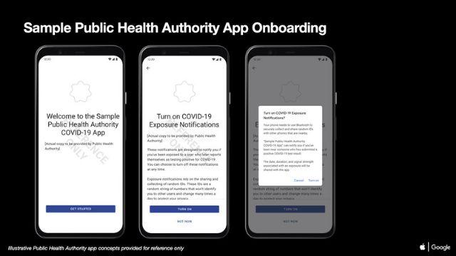 애플과 구글이 코로나19 감염 추적 기술 활용 정책과 샘플 리소스를 공개했다.