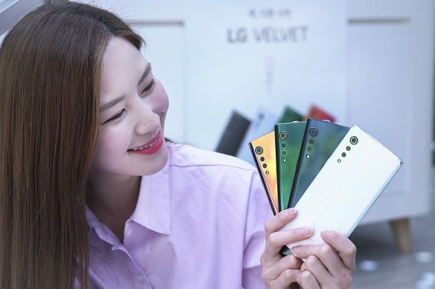 SK텔레콤이 8일부터 LG벨벳의 예약판매를 실시한다고 7일 밝혔다.(사진=SK텔레콤)