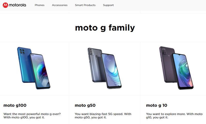 모토로라는 보급형 제품부터 폴더블 폰까지 폭넓은 라인업을 갖추고 있다. 출처=모토로라