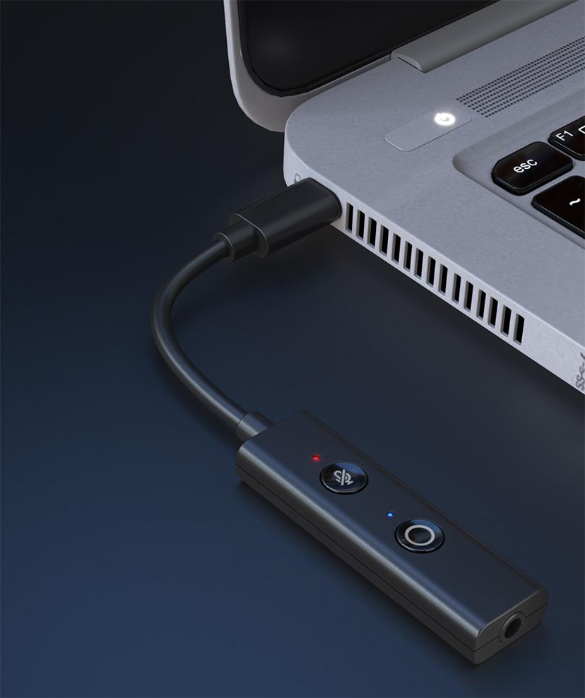 타입C 포트를 통해 윈도우 PC와 연결할 수 있다.