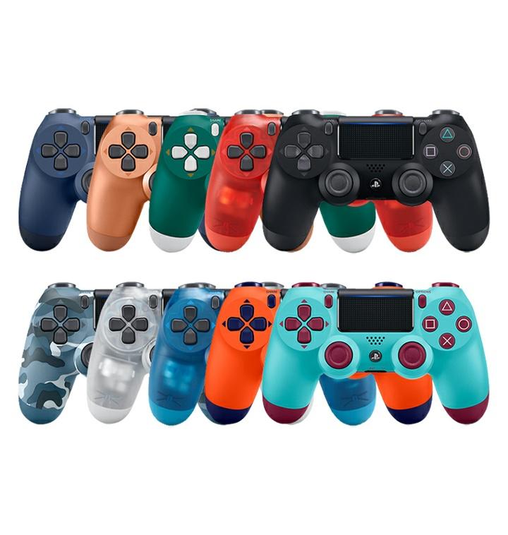 ▲ 플레이스테이션 5의 게임패드 듀얼쇼크 4의 다양한 디자인들 (사진: 소니)