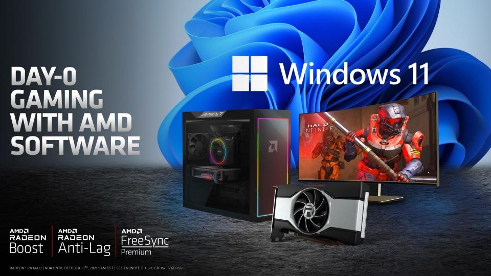 AMD 라이젠 프로세서와 함께 최신 윈도우 11 OS에 맞는 게이밍 PC를 구성할 수 있다.