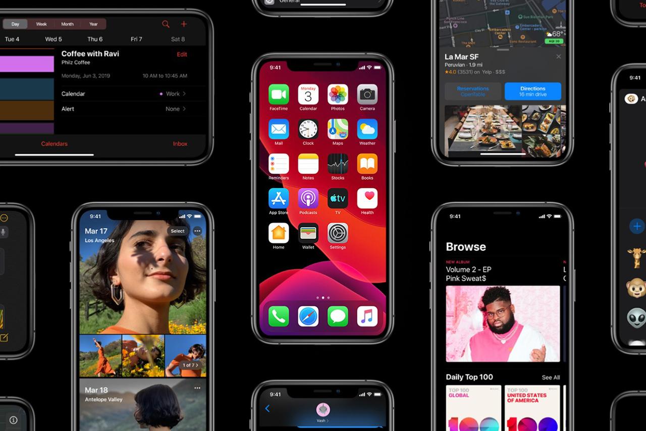 애플이 올 가을, iOS 13 업데이트를 진행할 예정이다.