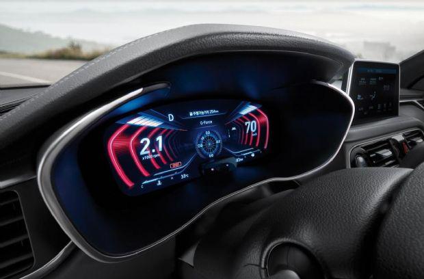 2019년형 제네시스 G70에 들어가는 12.3인치 3D 클러스터 (사진=제네시스)