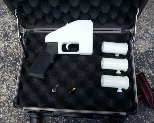 코디 윌슨이 설립한 3D프린팅 총기 도면 공유 사이트 '디펜스 디스트리뷰티드'에 도면이 게시된 플라스틱 총.(사진=디펜스 디스트리뷰티드)