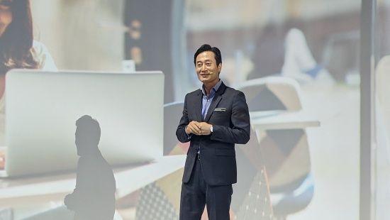 삼성전자 PC사업팀 이민철 상무는 PC가 IT 제품군의 중심 장치라고 설명했다. (사진=지디넷코리아)