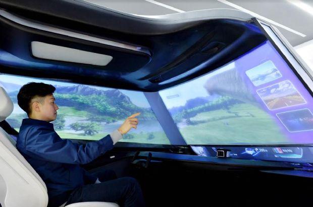 현대모비스는 CES 2019서 가상공간 터치기술을 선보인다 (사진=현대모비스)