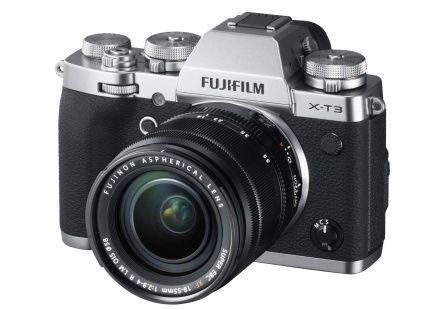 H.265 동영상 기록 기능을 갖춘 후지필름 X-T3 미러리스 카메라. (사진=후지필름)