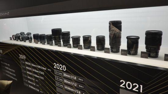 니콘이 오는 2020년까지 출시할 Z마운트 라인업. (사진=지디넷코리아)