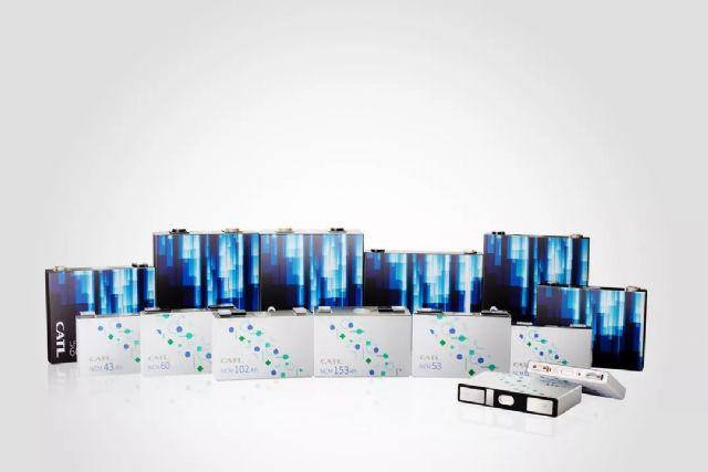 세계 최대 전기차 배터리 제조사인 중국기업 CATL의 각형 배터리.(사진=CATL)