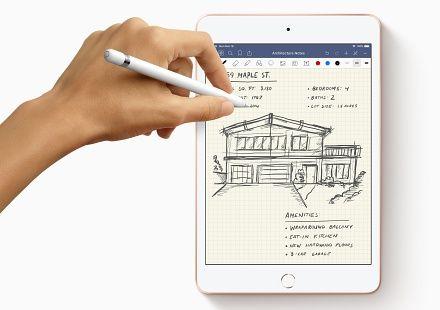 애플이 18일(현지시간) 공개한 아이패드 미니 신제품. A12 바이오닉 칩을 탑재했다. (사진=애플)