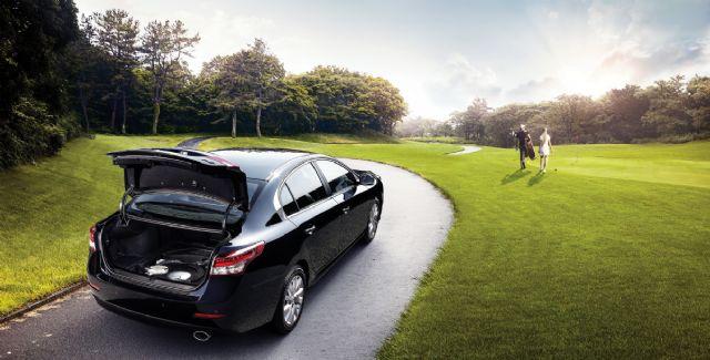 26일부터 일반인이 휘발유차와 경유차를 LPG 차량으로 개조하는 것이 가능해진다. 사진은 르노삼성차 SM5 LPe 도넛탱크(사진=르노삼성차)