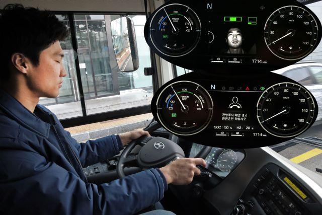 현대차 수소전기버스에 적용된 DSW 시스템 (사진=현대차)