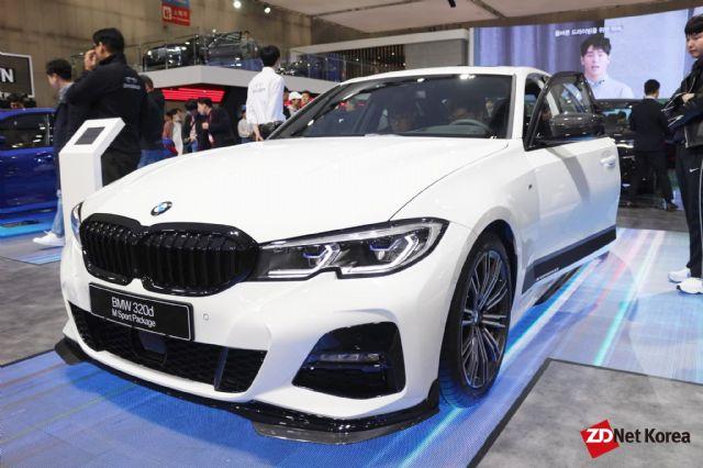 2019 서울모터쇼에 전시된 BMW 7세대 3시리즈 (사진=지디넷코리아)