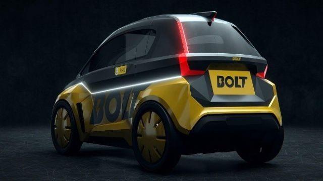 2인승 소형 전기차 '볼트 나노(Bolt Nano)'. (사진=Bolt Mobility)