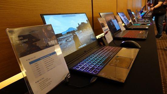 인텔 9세대 코어 프로세서 신제품 탑재 노트북. (사진=지디넷코리아)