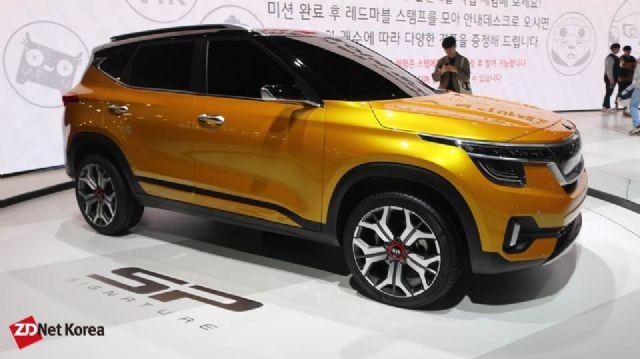 지난 3월 2019 서울모터쇼서 공개됐던 기아차 SP 시그니처 콘셉트카 (사진=지디넷코리아)