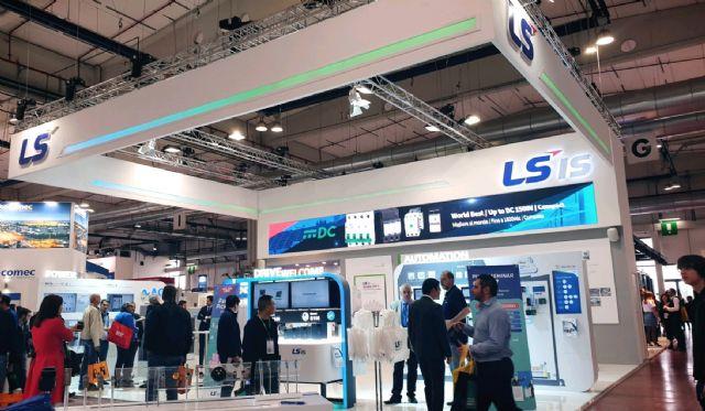 LS산전이 지난 28일부터 사흘간 이탈리아 북부 파르마(Parma)에서 열리고 있는 '제9회 이탈리아 파르마 국제 자동화 시스템 박람회'에 참가했다. (사진=LS산전)
