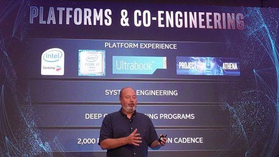 인텔은 아테나 프로젝트가 수 년간 연구를 거쳐 나온 결과물이라고 밝혔다. (사진=지디넷코리아)