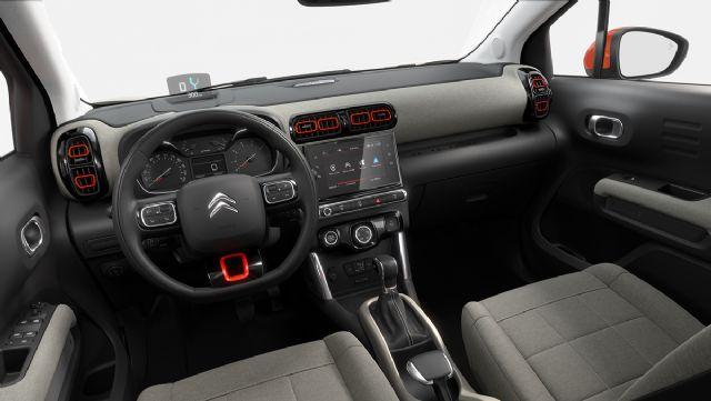 시트로엥 C3 에어크로스 SUV 실내 (사진=시트로엥)