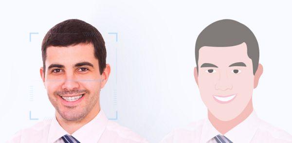화웨이의 얼굴인식 기술 소개 이미지 (사진=화웨이)