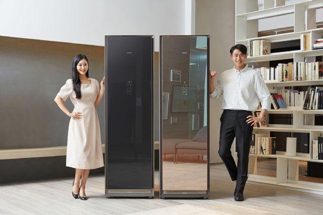 삼성전자가 '에어드레서' 대용량 신제품을 14일 출시한다. (사진=삼성전자)