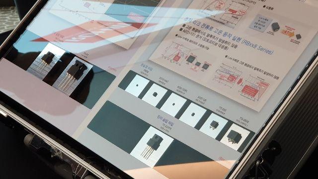 로옴이 5일 공개한 차량용 쇼트키 배리어 다이오드 'RBxx8 시리즈'. (사진=지디넷코리아)