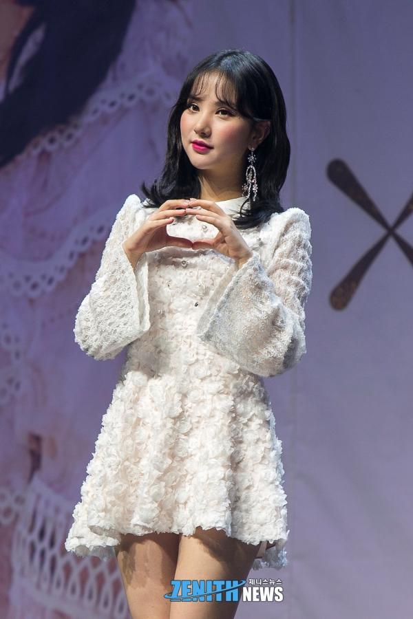 ▲ '미모 지수, 맑음' 여자친구 은하 (사진=소진실 기자)
