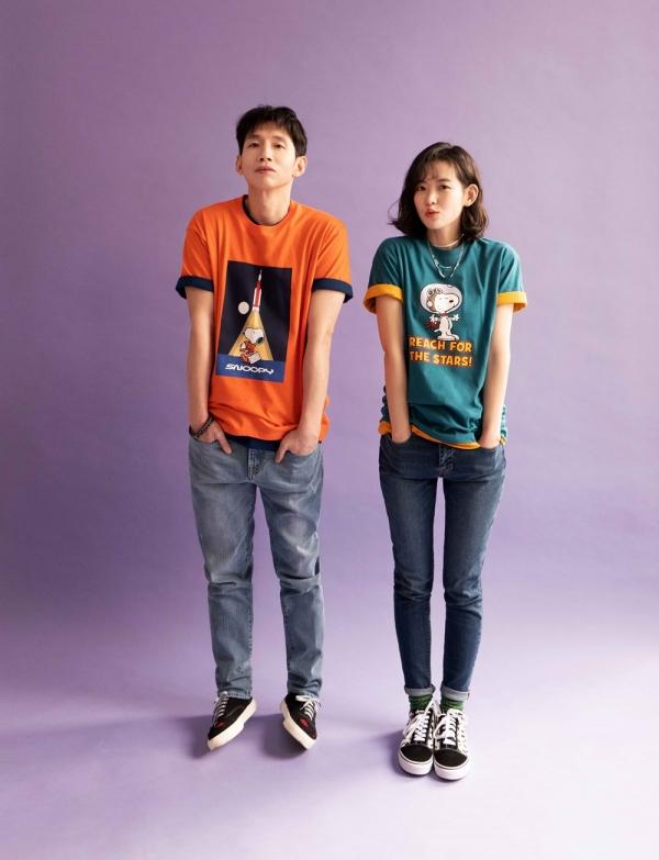 ▲ 디자인 유나이티드, 캐릭터 협업 티셔츠 출시 (사진=신세계인터내셔날)