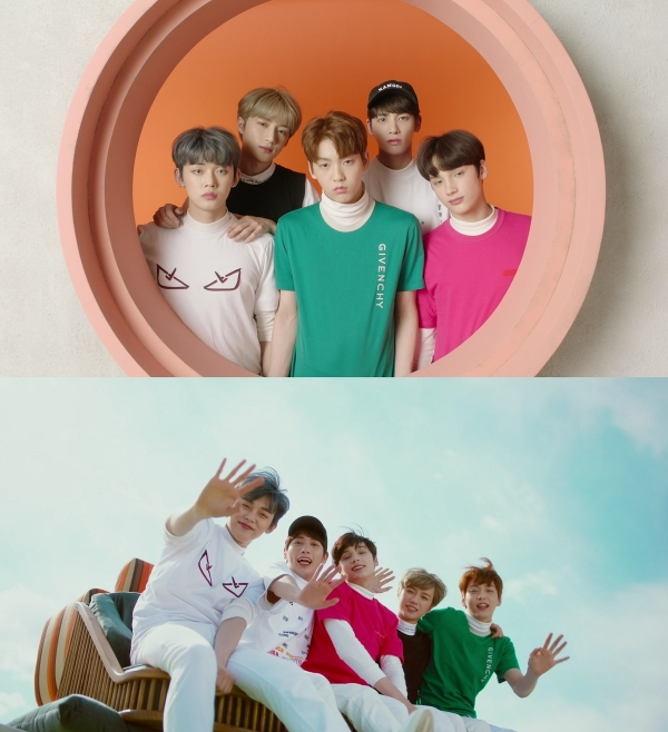 ▲ 투모로우바이투게더, 'Cat & Dog' 뮤직비디오 공개... 청량 소년美 폭발 (사진=빅히트)