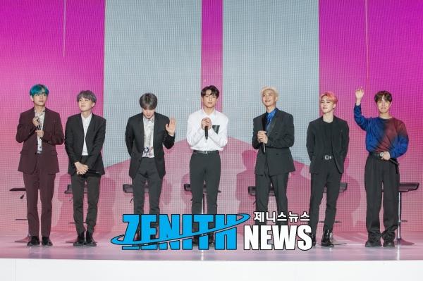 ▲ 방탄소년단, 美빌보드 메인 차트 5주 연속 동시 집입... '소셜50' 최장 기록 (사진=제니스뉴스 DB)
