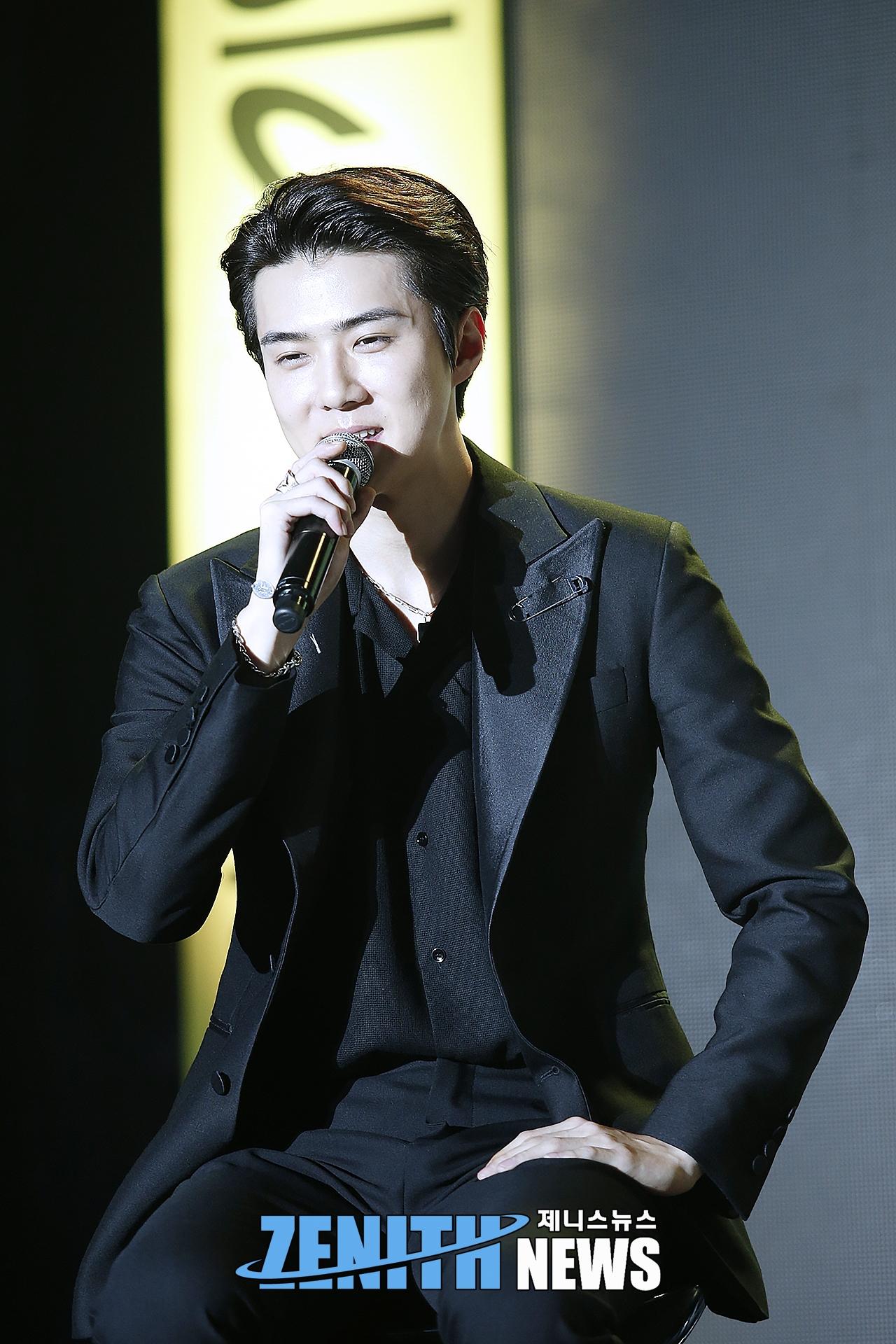 ▲ EXO-SC 세훈 '말만 해도 삐약삐약 소리날 것 같은 병아리♥' (사진=문찬희 인턴기자)