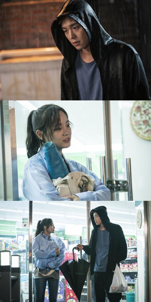 ▲ '너의 노래를 들려줘' 연우진X김세정, 우산을 건넨 이유는? (사진=KBS2)