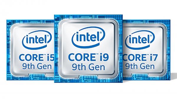 인텔의 최신 9세대 CPU(사진=인텔)